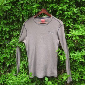 Tommy Hilfiger Ribbed Grey T-Shirt